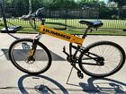 Hummer Tactical Mountain Bike By Montague Paratrooper Pro Yellow Folding Used