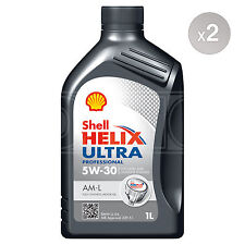 Shell Helix Ultra Professional AM-L 5w30 Fully Synthetic Engine Oil 2 x 1 Litres