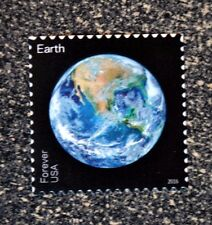 2016USA #5071 Forever - Earth - View of Our Planets - Single Stamp - Mint NH