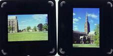 2 Vintage 35mm Slides Salisbury Cathedral 1964
