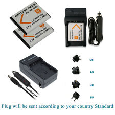 BATTERY /Charger For SONY NP-BN1 CYBER SHOT CAMERA TYPE N QX Q WX W T SERIES