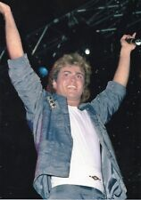GEORGE MICHAEL PHOTO WHAM UNRELEASED UNIQUE HUGE IMAGE 1984 EXCLUSIVE RARE GEM