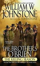 3 books Brothers O'Brien: by William Johnstone and J. A. Johnstone  Free Shippin