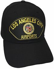 City Of Los Angeles Airports Hat Color Black Adjustable