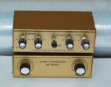 New listing Calrad Stereo Mike Microphone Mixer & Three Way Crossover ! T795 H