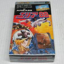 Area 88 aka U. N. Squadron Super Famicom Japan ORIGINAL * Good Condition NO FADE
