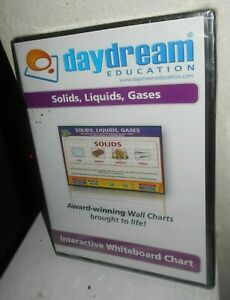 Daydream Education Solids,Liquids,Gases  Interactive Whiteboard Chart New