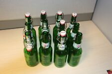 12 Grolsch Swing Top Fliptop Bottles - Great for bottles for Home Brewers