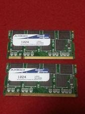 Axiom 2GB- (2X1GB) -PC2100S DDR 266MHz Ram Laptop 14501