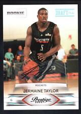 JERMAINE TAYLOR 2009/10 PRESTIGE ROOKIE DRAFT PICKS AUTOGRAPH SP AUTO #/699 $20