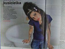 Amy Winehouse mag.NEWSWEEK  Poland 2015   Rolling Stones,Citroen C4,UB40