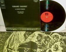 GERARD MANSET:La Mort D 'Orion 1970*PATHE ZENON 1978 RE*Booklet *Pristine Copy!