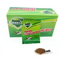 50Pcs Pesticide Insecticide Effective Powder Ant Killing Bait Ant Killer New