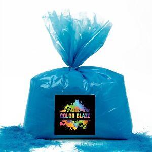 Color Blaze Gender Reveal Blue Powder - 5 lbs - Baby Announcement, Party, Boy