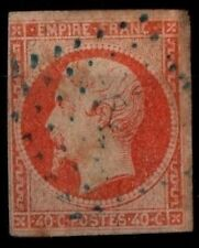 ANCRE BLEUE sur NAPOLÉON 16 = Cote 99 € / Lot Classique France