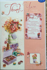THANK YOU YOURE SO KIND CARD,WITH KEEPSAKE WALLET/PURSE CARD,NICE VERSE (T1)