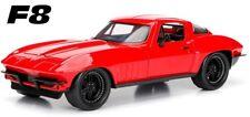 JADA 98298 - 1/24 LETTY'S CHEVROLET CORVETTE FAST & FURIOUS 8 DIECAST MODEL CAR