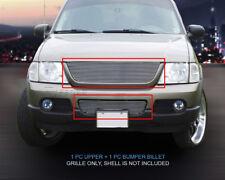 02-05 Ford Explorer Billet Grille COMBO Grille Insert Fedar