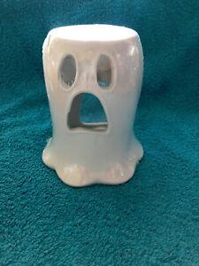 👻🎃Halloween Ceramic Ghost Wax Tart/Oil Burner with screamberry punch tart👻🎃