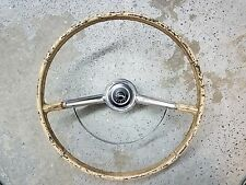 1964 IMPALA SS Steering Wheel  WITH HORN BAR AND CAP oem 1964 #A3