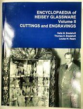 Encyclopedia of Heisey Glassware Vol II. Cuttings and Engravings