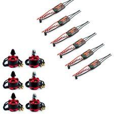 6 x Red 2212 920KV Brushless Motor & 6 x E-TECH 30A Simonk ESC for DJI F550 quad