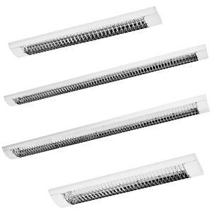 *HIT* SET LED Rasterleuchten Deckenleuchte Bürolampe Büroleuchte inkl. LED T8
