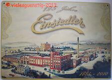 Blechschild Schild 20x30 cm - 125 Jahre Einsiedler Brauerei Bier vintage