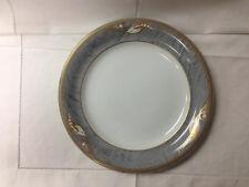 "ROYAL COPENHAGEN ""MAGNOLIA GREY"" DINNER PLATE 10 3/8"" DENMARK #627"