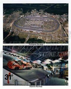 Darlington Daytona raceway duo  8x10 11x14 16x20 photo 543