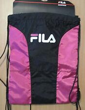 NWT FILA SP-1003 X4 Sackpack Sport Sack PINK / BLACK - $40