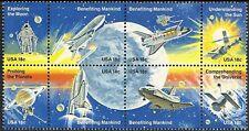 USA - MNH Block of 8 18c Space Achievement...............#1912 - 1919