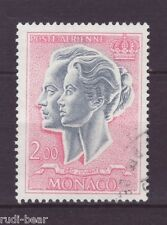 Monaco Nr.   844  gest.   Fürstenpaar Rainier III und Gracia Patricia    -1