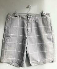 Quiksilver AMPHIBIAN BOARDWALK Mens Size 32 Short Boardshorts Walkshorts - Grey