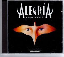 (GT485) Cirque Du Soleil, Alegría  - 1994 CD