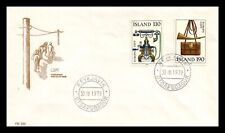 Iceland 1979 FDC, Europa CEPT XX. History Posts and Telecommunications. Lot # 5.