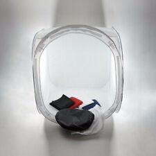 Light Cube Tent 60cm Photography Box Backdrop Studio Photo Softbox Lighting UK