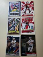 2019 & 2020 Tom Brady 6 Card Lot Buccaneers