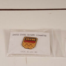 USA United States Olympic Committee 1988 Hat Lapel Pin '88