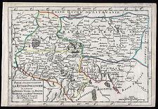 Ukraine Landkarte Vaugondy 1749 kolorierter Kupferstich Original