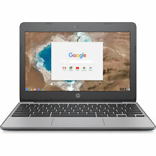 "Hewlett Packard 11-v010nr 11.6"" HD Chromebook - Intel Celeron N3060 Processor"