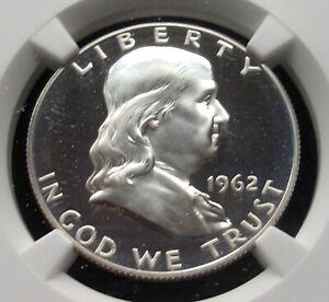 1962 Franklin Half Dollar PF 67 Cameo