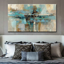 Mintura Hand Painted Modern Abstract Oil Paintings On Canvas Wall Art Home Decor