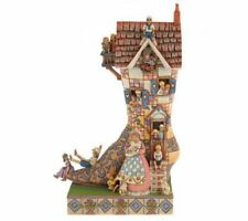 """Heartwood Creek Jim Shore 4007025 Old Woman Who Lived in a Shoe 9"""" Nursery Rhyme"""