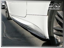 GS Real Carbon Fiber Side Skirts Extension Add On Lip 2008-2013 BMW E92 E93 M3