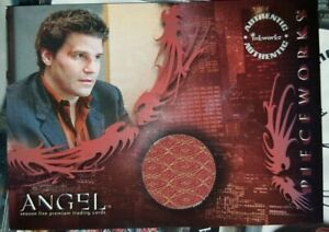 Buffy Angel Season 5 Costume Card PW3 Angel Shirt - Inkworks -Very Rare!
