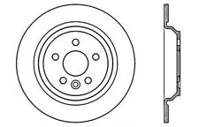 Centric Parts 125.39043 Rear Premium Brake Rotor