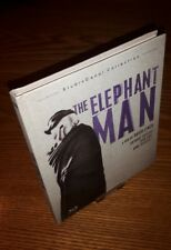 THE ELEPHANT MAN Bluray rare OOP region free (discontinued StudioCanal digibook)
