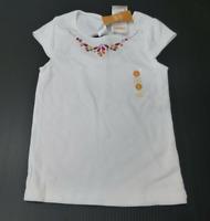 Gymboree Shirt Girls Size 6 Rhinestone Embroidered Knit Shirt New
