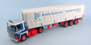 Miniature Camion Ixo Model Scania Lbt 141 Wolter Koops (Nl) Camion Lorry Mode
